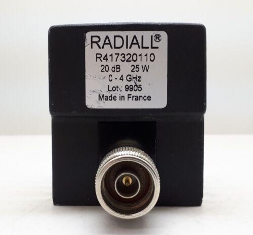 Radiall Attenuator R417320110