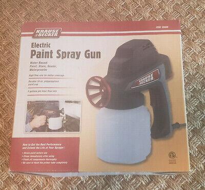 New Krause Becker Electric Paint Spray Gun