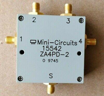 Mini Circuits Microwave Mini Za4pd-2 4-way Power Divide Splittercombiner