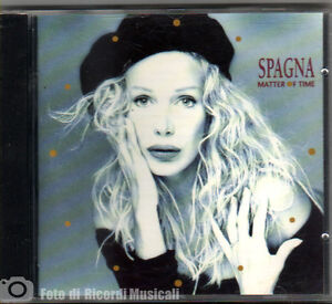 IVANA-SPAGNA-MATTER-OF-TIME-Anno-1993-CD-MINT