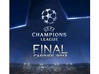 UEFA CHAMPIONS LEAGUE FINAL 5 BED ACCOMMODATION