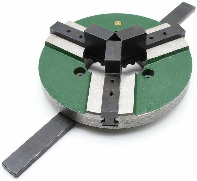 "Lathe Chucks 8"" 200mm 3 Jaw Self-centering Welding Table Chuck WP-200 Reversible"