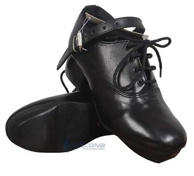 Real Irish Leather - IRISH HEAVY SHOES JIG HARD DANCE DANCING GENUINE LEATHER