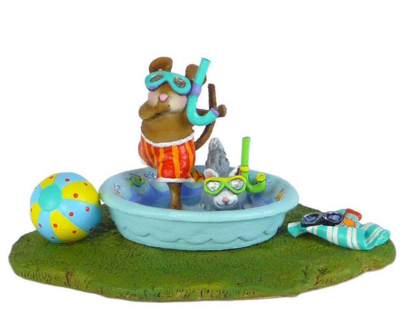 Wee Forest Folk POOL PALS, M-486x, Mouse Expo 2015 Event Piece