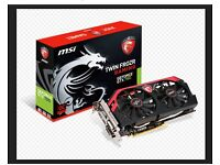 MSI NVIDIA GeForce GTX 760 2GB TwinFrozr