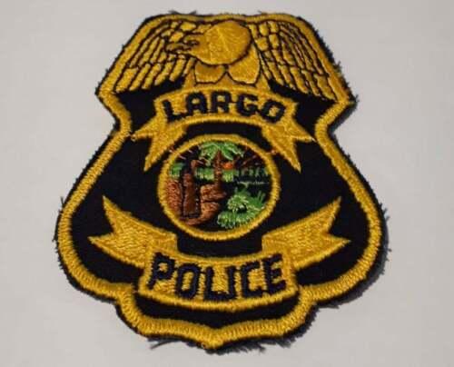 Largo Florida FL US Police Patch Vintage
