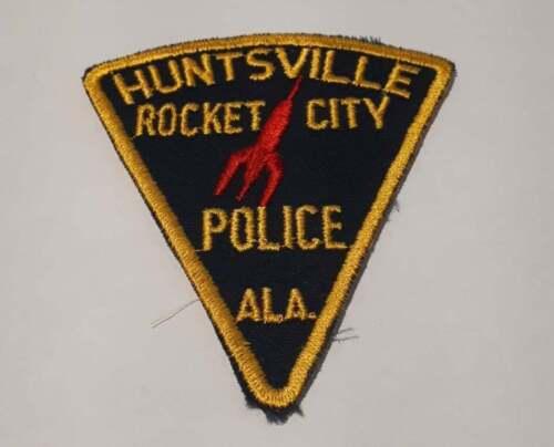 Huntsville Alabama AL US Police Patch Vintage