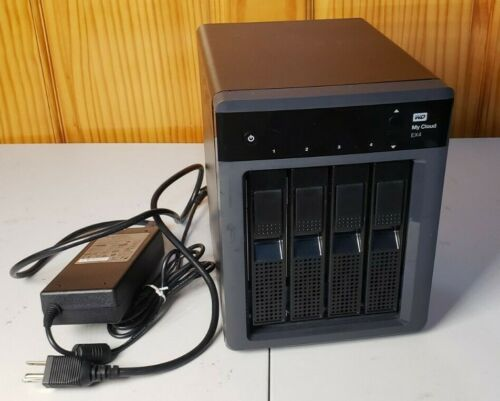 Western Digital My Cloud EX4 Network Attached Storage NAS 4- Bay Enclosure