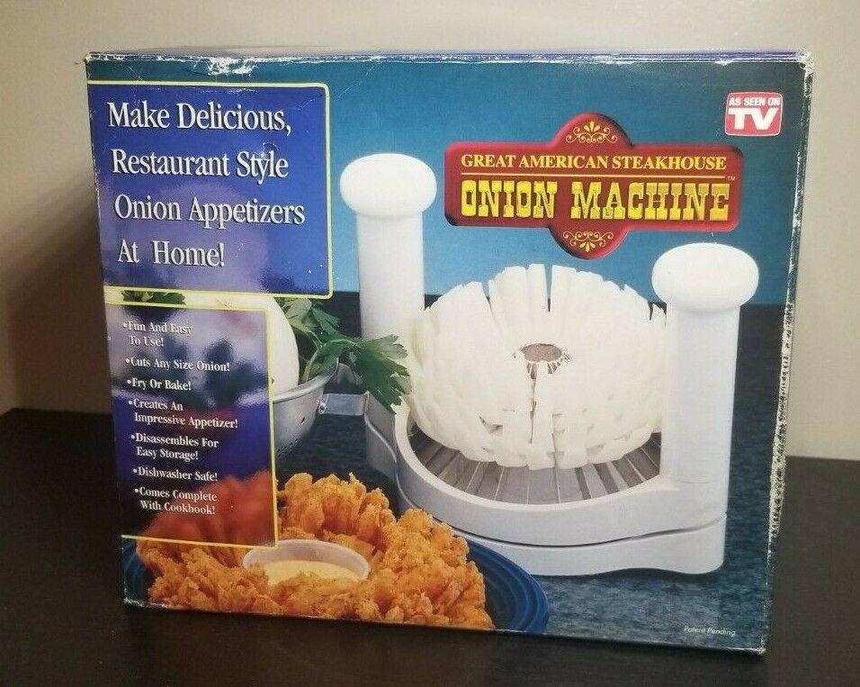 Great American Steakhouse Onion Machine Chop Onions For Deep Fry YUM YUM YUM - $59.99