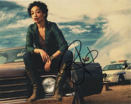 Ruth Negga Preacher Autographed Signed 8x10 Photo COA #2