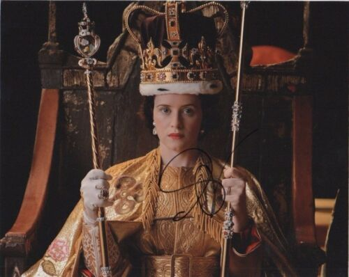 Claire Foy The Crown Autographed Signed 8x10 Photo COA #O3