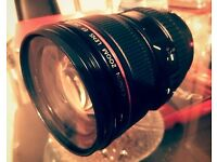 CANON EF 24-105mm f/4L IS USM LENS in a good condition