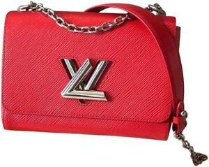 d431d421be Louis Vuitton Twist MM Epi Leather Coquelicot