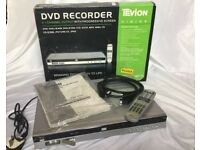 Tivion Vision TDR5101 DVD Recorder w/ Box, Manuals And Remote