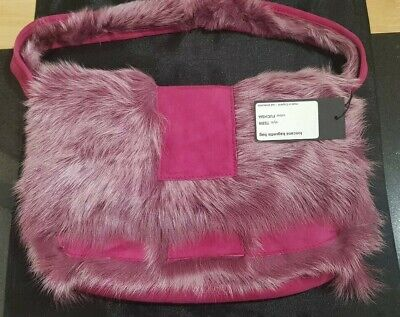 Karl Donoghue Bag, Sheep Skin Bag, Real Sheep Skin Bag, Toscana Baguette Bag NEW