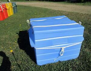 Tough food-grade plastic kitchen size panniers NOW IN STOCK