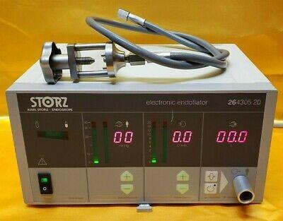 Karl Storz 26430520 Electronic Endoflator 20 Liter With Storz 20400028 Hose