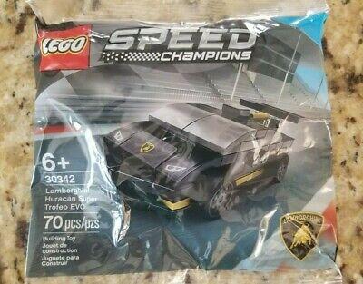 LEGO 30342 SPEED CHAMPIONS Lamborghini Huracan Super Trofeo EVO free ship