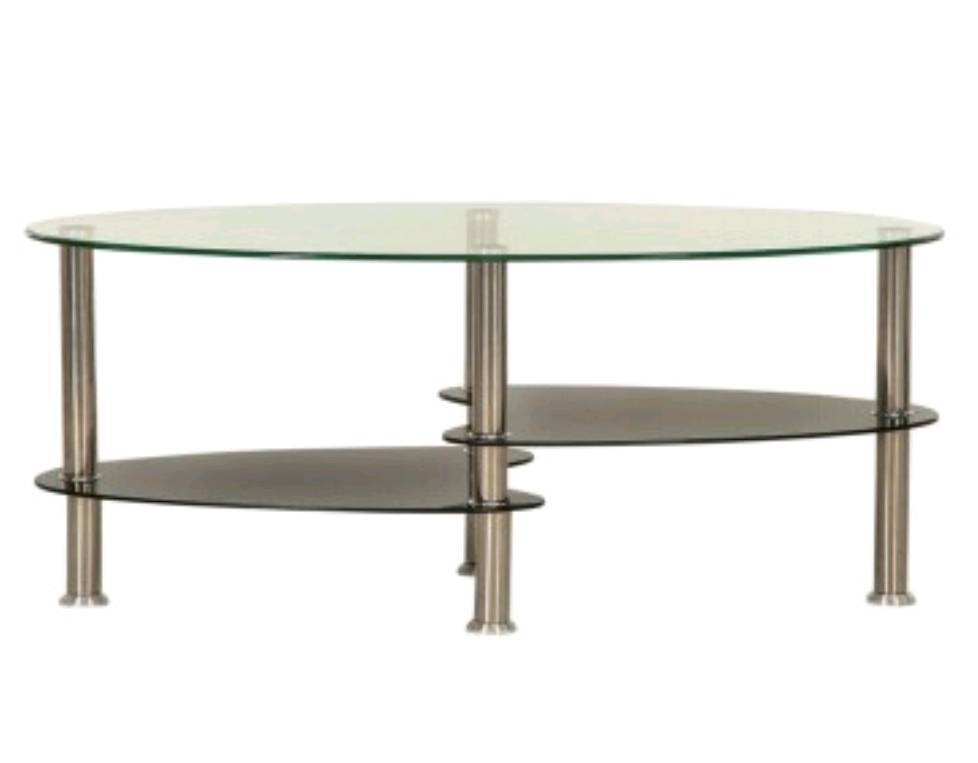 Brand New 2 Tier Glass Coffee Table