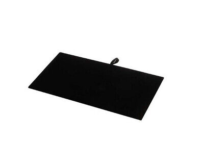 14 X 7-12 Black Velvet Pad Tray Insert Jewelry Display