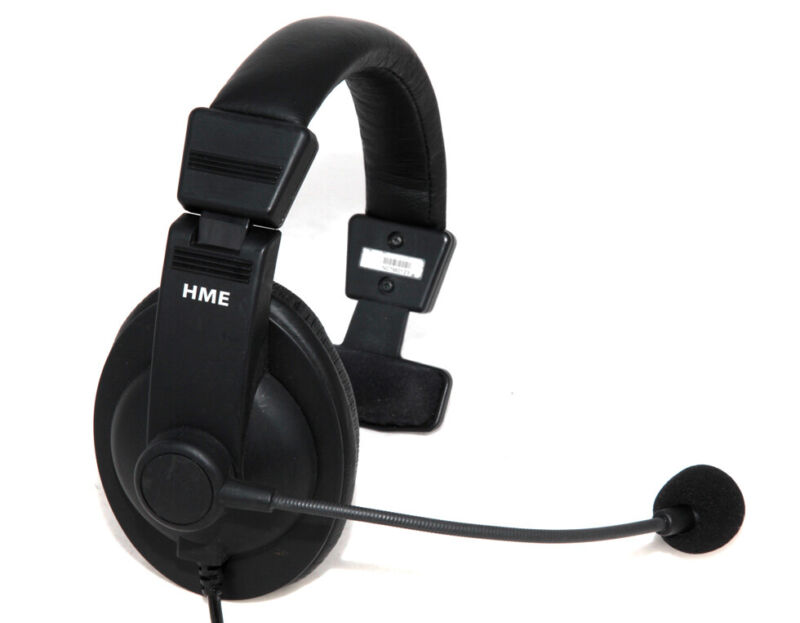 HME Clear-Com HS15 Headset Microphone For Wireless Intercom 306G100-1 Single