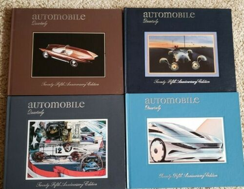 Automobile Quarterly Vol 25 Books 1-4 Complete Set