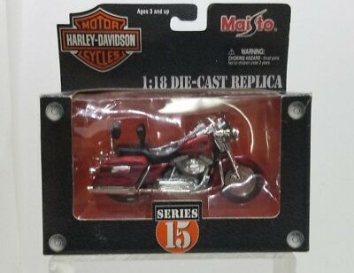 MAISTO HARLEY-DAVIDSON SCALE 1:18 IN SERIES #15 2001 FLHRSEI CVO CUSTOM, used for sale  Centralia