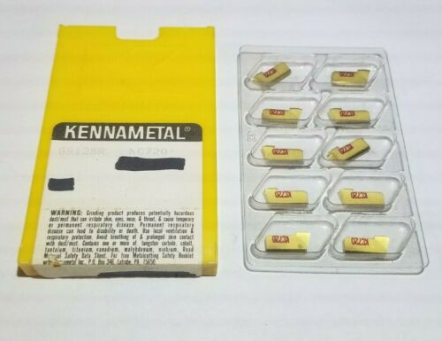 GS125R KC720 KENNAMETAL *** 10 PCS *** FACTORY PACK ***  insert