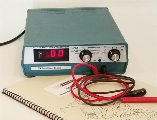 Heathkit Digital VOM model IM-1210 with Leads