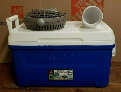 Onos XLG 48qt Breez Portable Swamp Cooler Air Conditioner Home Camping Ice Chest