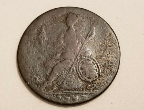 1773 Great Britain 1/2 Penny