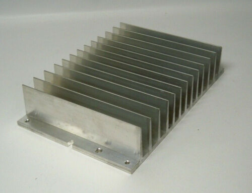 "*NEW* Aluminum Heat Sink 9"" x 6"", Big, Large, 2.8 lbs"