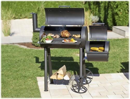 Mr. Gardener Smoker Portland, BBQ-Smoker, aus dem Hause Landmann, Grill