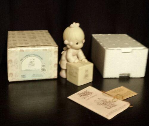 "Precious Moments ""Sharing is Universal"" Collectors' Club Figurine E-0007 1987"