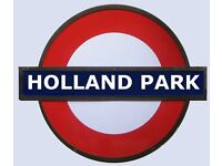 HOLLAND PARK***SPACIOUS OFFICE - FULLY REFURBISHED