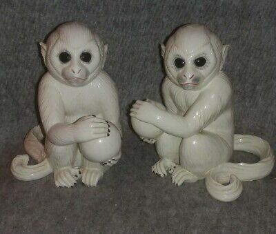 Very Rare Bowl Limbach Monkey Baby Marked Germany Collector