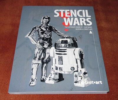 "Graffiti Buch / Magazine ""STENCIL WARS"" Streetart Urban Art Montana Molotow"