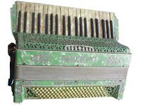 Pancotti Macerata Italia accordian with case