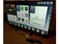 """LG 55"""" Slim 3D FULL HD SMART LED TV WITH BUILT IN WiFi FREEVIEW HD, HDMI NEW CONDITION FULLY WORKING"""