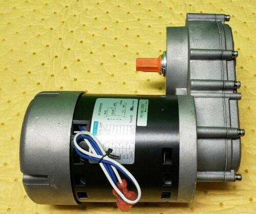 AC GEARMOTOR PE Power Electric  Motor 115V/60Hz