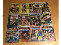 Silver Age Marvel/DC War Comic Book Collection