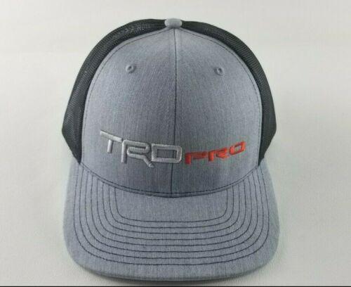 TRD PRO - TOYOTA - 4-Runner, Tundra, Tacoma, Trucker BALL CAP HAT Custom TRD 3D