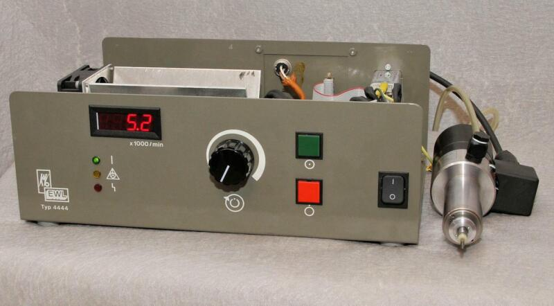 KAVO EWL ELEKTROTECHNISCHES 4444 CONTROLLER AND 4052 100W 50K RPM SPINDLE