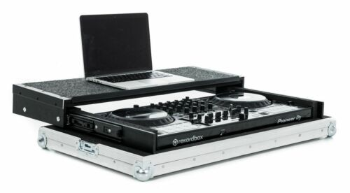 Pioneer DDJ-1000 Controller Flight Case with Laptop Slider & Carry Handle