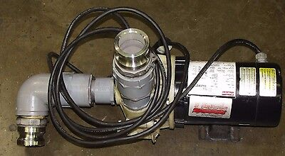 Teel 2p690 1 12 Npt 34 Hp 3450 Rpm 115230v Centrifugal Pump
