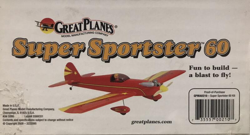 Great Planes Super Sportster .60 kit GPMA0210