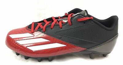 6be5126e621 Adidas Adizero 5 Star Low Football Cleats Men s SIZE 11 Red Black +Priority  s h