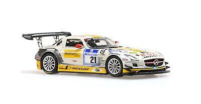 1:43 Mercedes SLS n°21 Nurburgring 2013 1/43 • MINICHAMPS 410133221 #