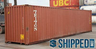Used 40ft Highcube Shipping Containers For All Storage - Pueblo Colorado