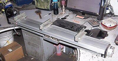 Rotary Screw Linear Actuator Servo Motor Driven W Brake 40 Travel